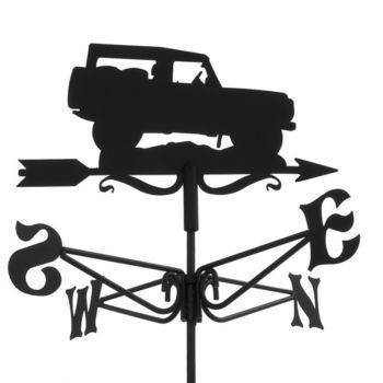 Mini Land Rover Weathervane