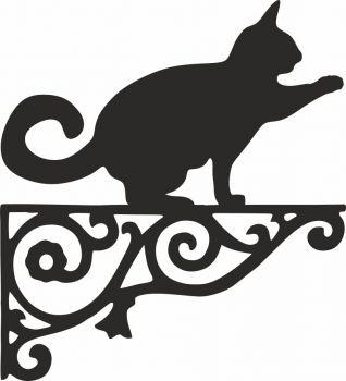 Bengal Cat Ornamental Hanging Bracket