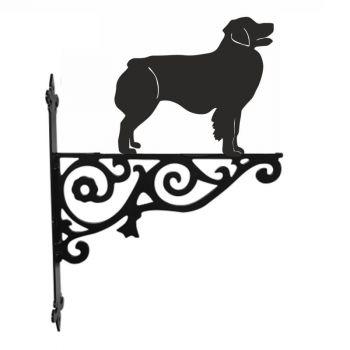 Australian Shepherd Dog Ornamental Hanging Bracket