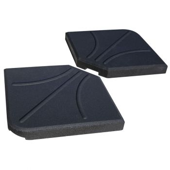 Overhang Parasol Base Weights Pack of 2