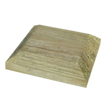 Post Cap Green ONLY AVAILABLE WITH A PURCHASE OF 3 FENCE PANELS