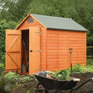8' x 6' Security Shed