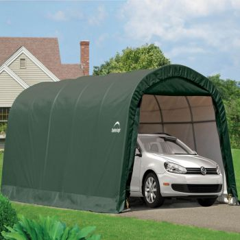 10x20 Round Top Auto Shelter