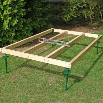 44x69mm Pressure Treated Shed Base Approx 6 x 4 Feet