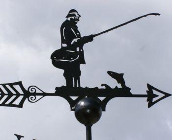 Fisherman Weathervane