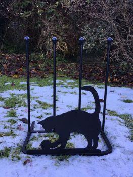 2 Pair Boot Rack - Cat