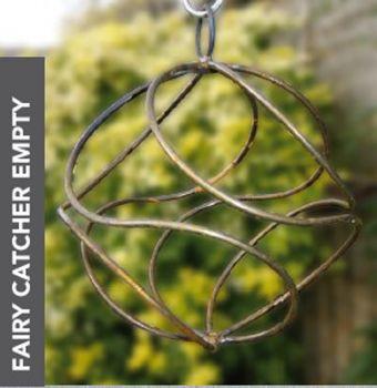 Fairy Catcher Empty Silver