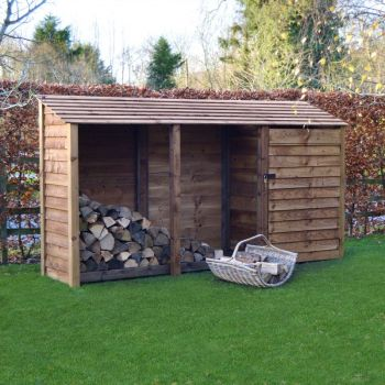 Empingham 6Ft Tool Store - Rustic Brown