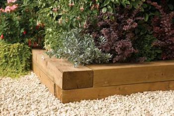 Timber Blocks 1.8m (Pack Of 2)