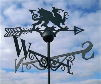 Welsh Dragon Weathervane