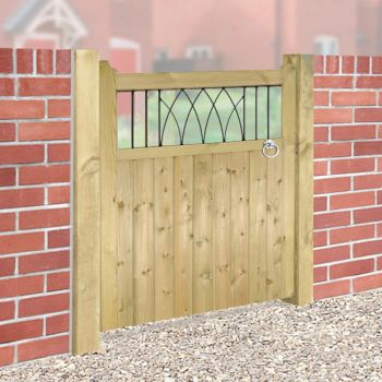 Windsor Wooden Single Gate 75cm Wide x 120cm High