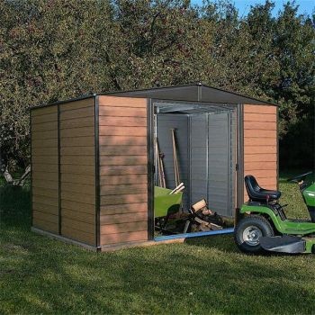 Woodvale Metal Shed - 10' x 6'
