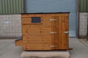 Brentford 660 Poultry House - Large Chicken Shed style coop for up to 35 hens
