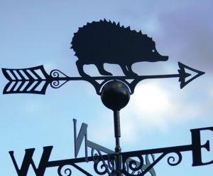 Hedgehog Weathervane