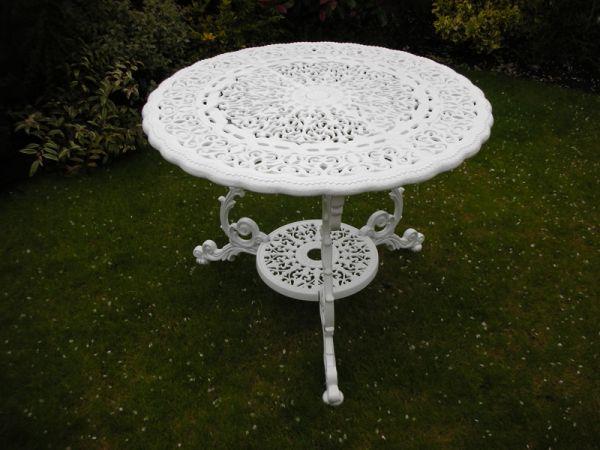 Quality Cast Aluminium Garden Furniture, Cast Aluminium Garden Tables Uk